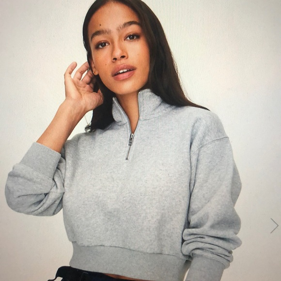 TNA cozyaf perfect 1/4 zip sweatshirt
